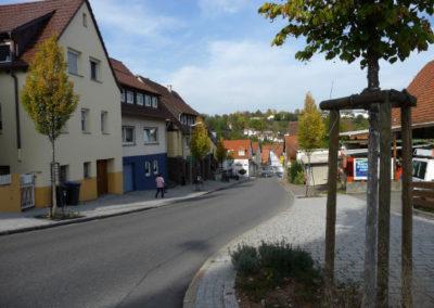 Plieninger Straße Ecke Steigstraße