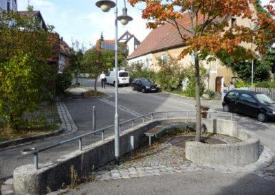 Hindenburgstraße Blick nach Westen