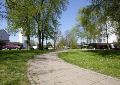 Weg zum Herzog-Philipp-Platz