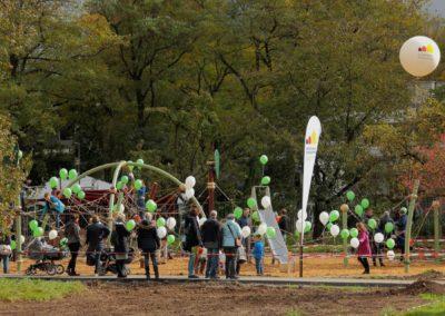 Eröffnung Spielplatz Grüne Mitte
