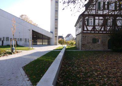 Zugang evangelische Kirche