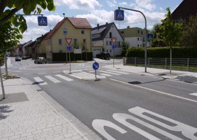 Kreisverkehr Stadteingang West
