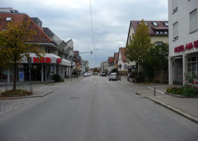 Blick in Heum Str. bei Rosenstraße