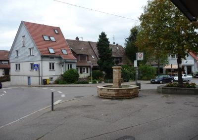 Brunnen Abzweig Birkacher Str. b