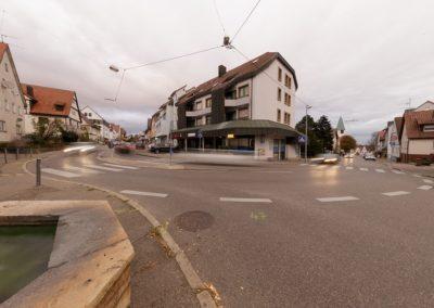 Kreuzung Heumadener Straße und Hauptstraße
